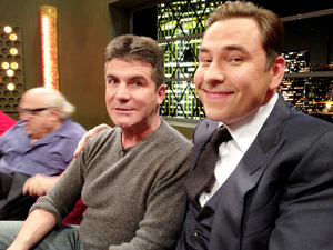 Simon Cowell, David Walliams