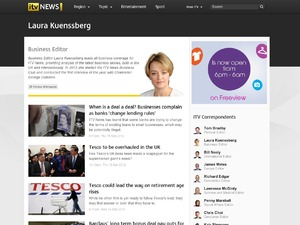 ITV rolling news site