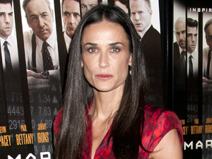 "Demi Moore premiere of ""Margin Call"" held at the Landmark Sunshine Theater - outside arrivals New York City, USA"
