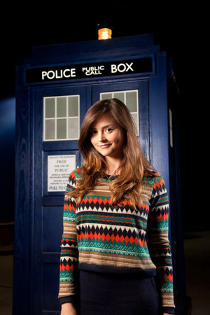 Doctor Who: Jenna-Louise Coleman first look