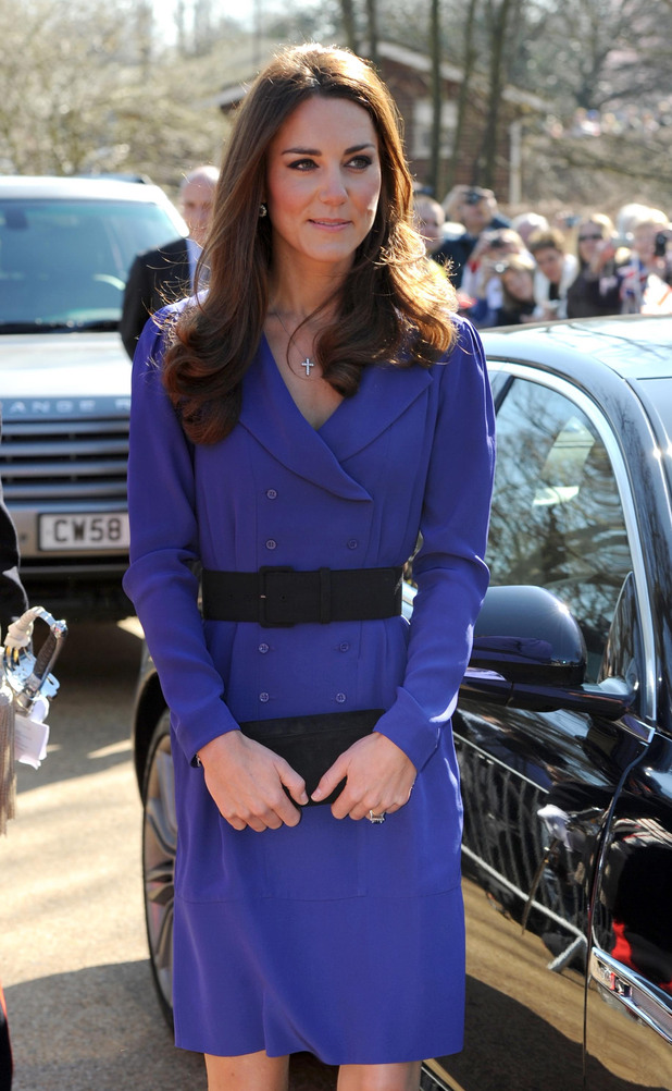 The Duchess of Cambridge makes first public speech