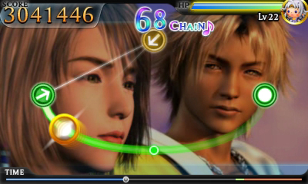 'Theatrhythm Final Fantasy' screenshot