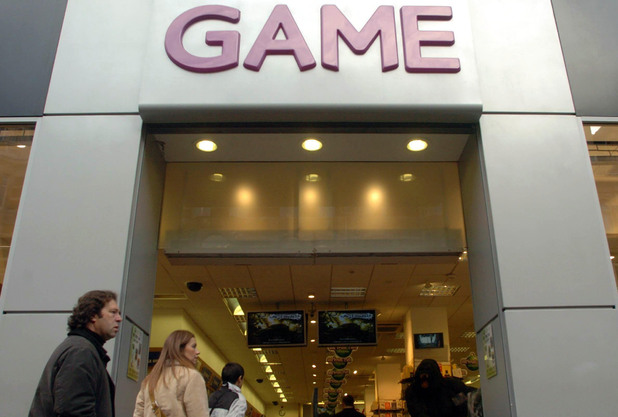 GAME store on Oxford Street, London