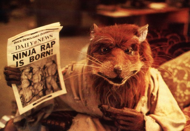 Splinter, the turtles' rat mentor