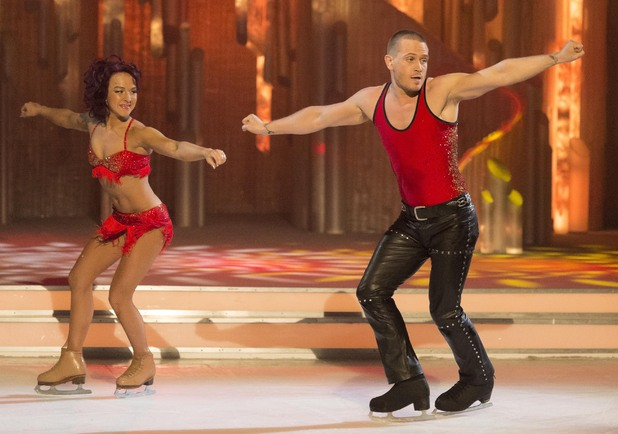 Matthew and Nina perform their favourite routine.