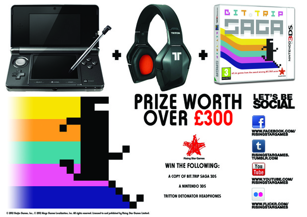 Bit.Trip Nintendo 3DS competition