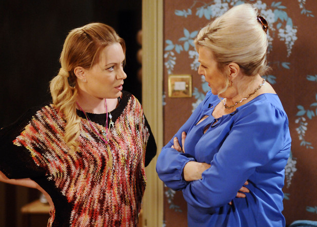 Cora is intrigued when Roxy comments on Max and Tanya's relationship.