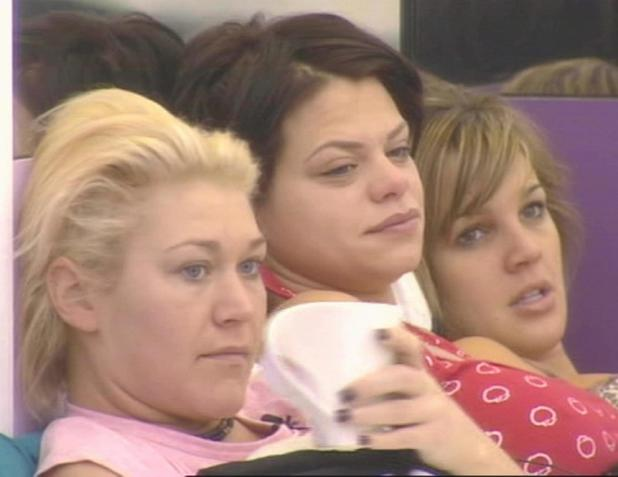 Jo O'Meara, Jade Goody and Danielle Lloyd