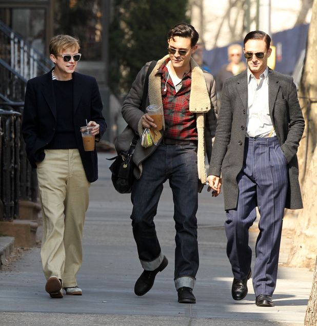 Dane DeHaan, Jack Huston and Ben Foster