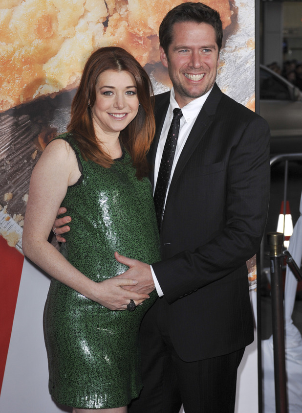 "Alyson Hannigan, Alexis Denisof ""American Reunion"" Los Angeles Premiere - Arrivals at Grauman's Chinese Theatre Hollywood, California"