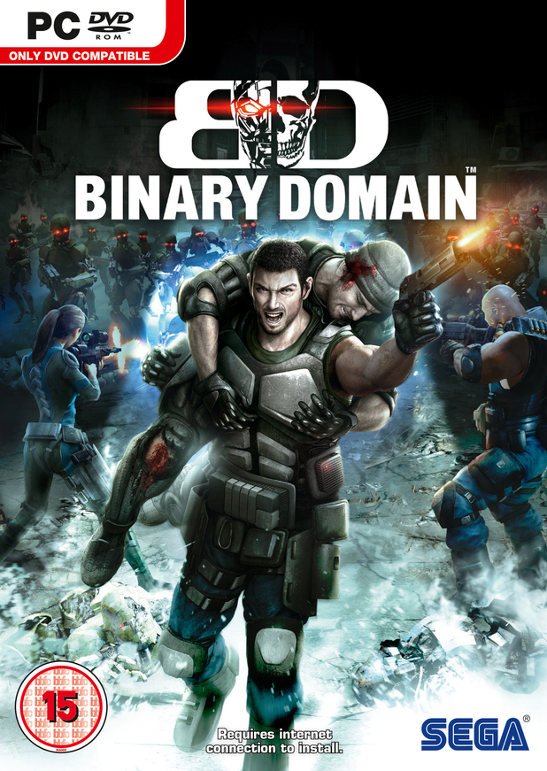 'Binary Domain' pack shot