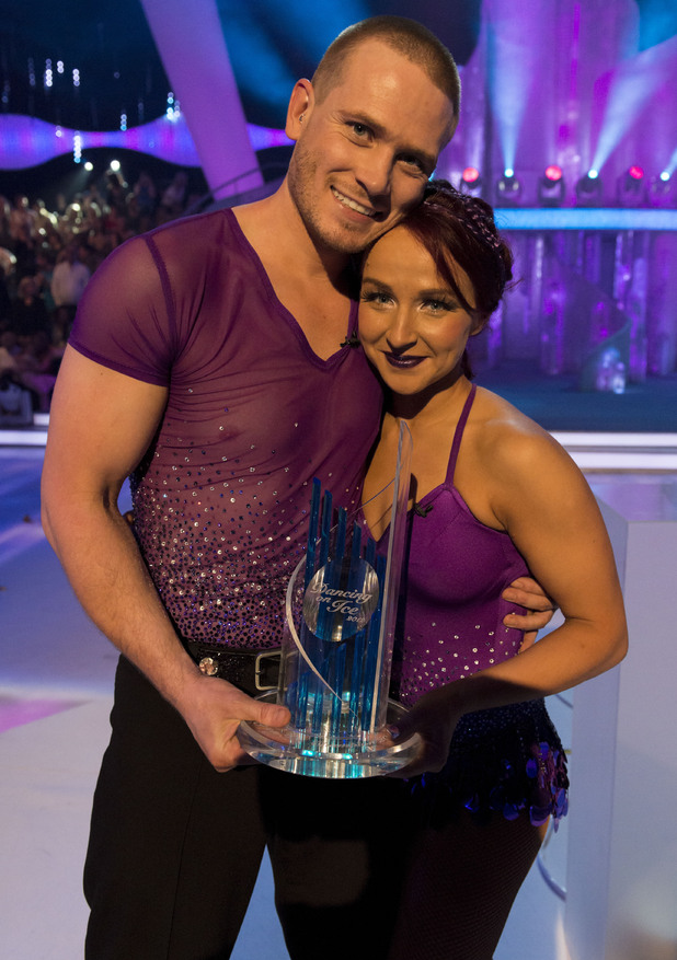 Matthew Wolfenden and Nina Ulanova win Dancing on Ice 2012.