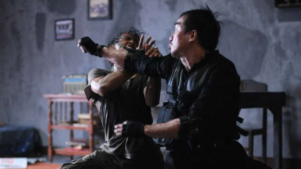 Watch the trailer for director Gareth Evans's brutal Indonesian action film 'The Raid'.