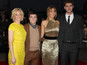 'Hunger Games' premiere interviews - vid