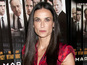 Demi Moore unhappy about Kutcher, Kunis?