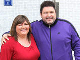 Cheryl Fergison and Ricky Grover outside the ITV studios London, England - 22.03.12 Mandatory Credit: WENN.com