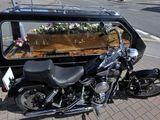 Harley hearse
