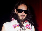 Russell Brand leaving Largo at the Coronet Los Angeles, California