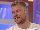 Freddie Flintoff, who broke the Guiness World Record for kissing the most people in 30 seconds