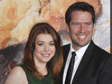 The actress gives birth to her second daughter with husband Alexis Denisof.