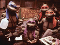 An in-pictures look at the screen history of the Teenage Mutant Ninja Turtles.