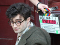 Woman in Black actor shoots scenes as Allen Ginsberg for new movie.