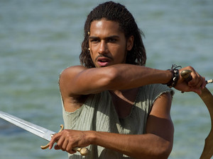Elliot Knight as Sinbad in Sinbad