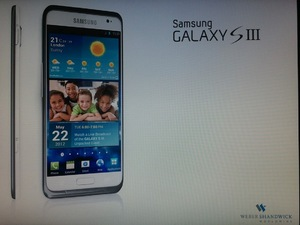 Galaxy S3 Press Image