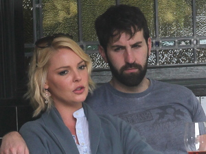 Katherine Heigl having lunch with Josh Kelley in Los Feliz Los Angeles, California - 28.03.12 Mandatory Credit: Owen Beiny / WENN.com