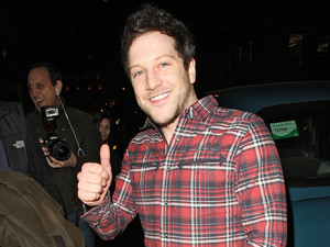 Matt Cardle arriving at Funky Buddha nightclub for his after party London