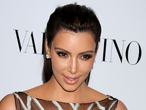 Kim Kardashian The Valentino Rodeo Drive Flagship store opening - Arrivals Los Angeles, California