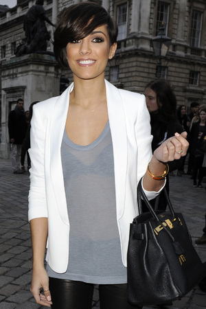 Frankie Sandford London Fashion Week - Autumn/Winter 2012 - Aminaka Wilmont - Outside Arrivals London, England - 21.02.12 Mandatory Credit: Stuart Castle / WENN.com