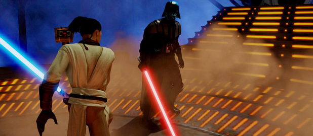&#39;Kinect Star Wars&#39; screenshot