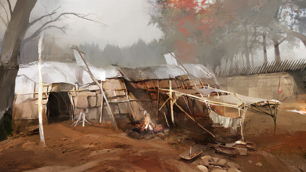 Assassins Creed 3 - First-look images - Mohawk Village
