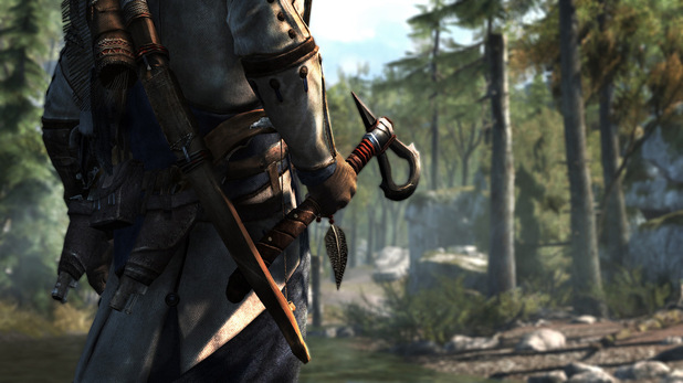 Assassins Creed 3 - First-look images - The Tomahawk Weapon