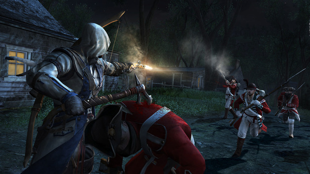 Assassins Creed 3 - First-look images - Pistol and Tomahawk
