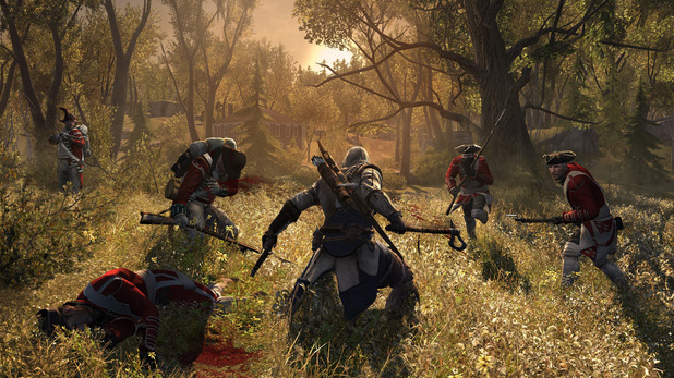 Assassins Creed 3 - First-look images - In combat