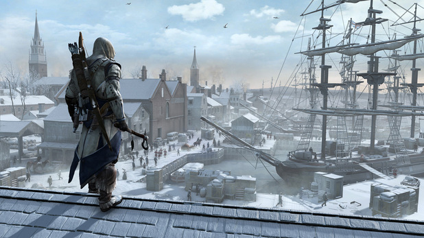 Assassins Creed 3 - First-look images - Boston - Port Vista