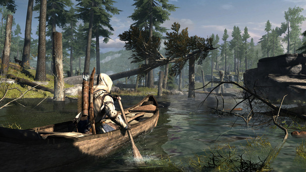 Assassins Creed 3 - First-look images - Canoe