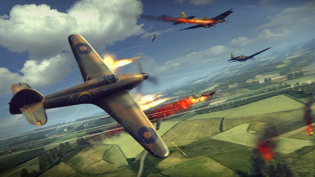 Combat Wings Dogfight screenshot