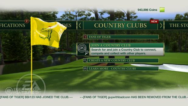 'Tiger Woods PGA Tour 13' screenshot