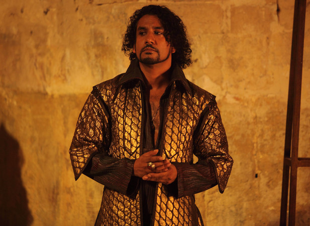 Naveen Andrews as Sinbad's arch nemesis, Lord Akbari