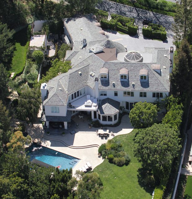 Robbie Williams's LA mansion