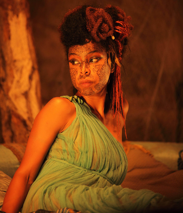 Sophie Okenedo as Razia, Queen of the Water-Thieves