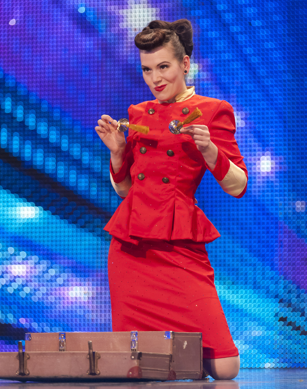 Britain's Got Talent S06E02: Beatrix Von Bourbon