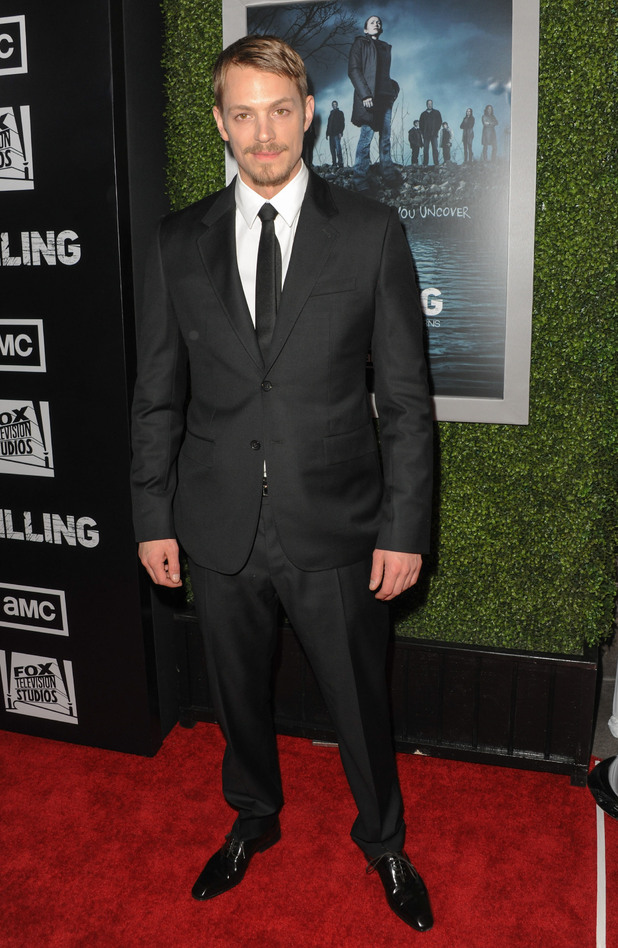 Joel Kinnaman 'The Killing' special premiere screening at the ArcLight Cinema Hollywood Los Angeles, California