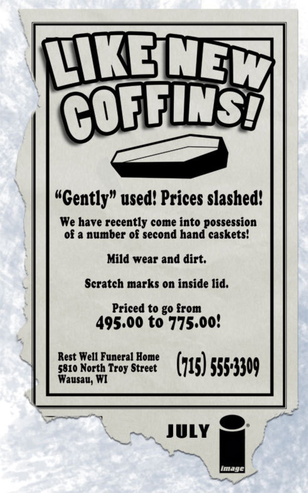 Image Comics teases 'gently used new coffins'