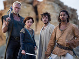 The crew of The Providece in Sinbad