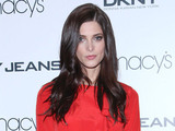 Ashley Greene The new face of DKNY, poses for photos and signs autographs at Macy's Herald Square New York City