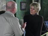 Shirley prepares to say goodbye to George.